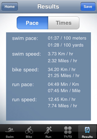 Triathica iPhone Screen Shot