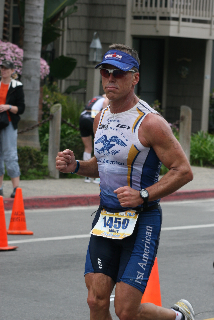 Larry Ironman 70.3 California